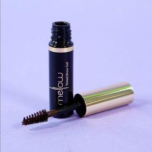 Mellow Cosmetics Tinted Brow Gel In Dark Brown